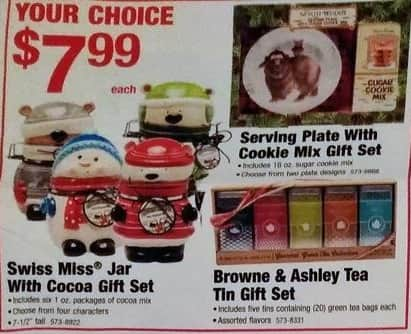 Menards Black Friday: Swiss Miss Jar with Cocoa Gift Set for $7.99