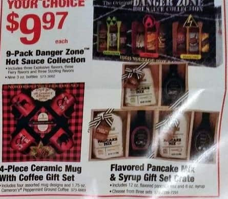Menards Black Friday: Flavored Pancake Mix & Syrup Gift Set Crate for $9.97
