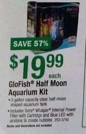 Menards Black Friday: GloFish Half Moon Aquarium Kit for $19.99
