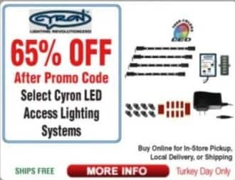 Frys Black Friday: Select Cyron LED Access Lighting Systems - 65%  Off