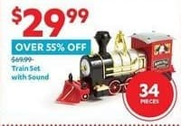 At Home Black Friday: Train Set with Sound for $29.99