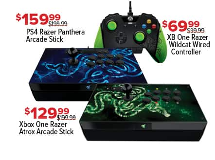 GameStop Black Friday: PS4 Razer Panthera Arcade Stick for $159.99