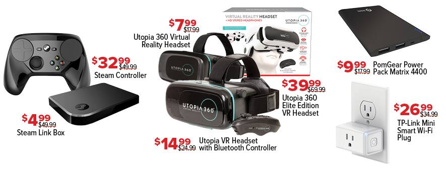 GameStop Black Friday: Utopia 360 Virtual Reality Headset for $7.99