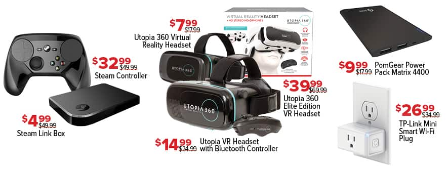 GameStop Black Friday: Utopia VR Headset with Bluetooth Controller for $14.99