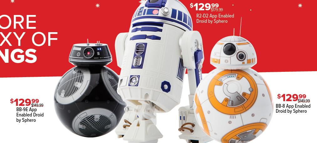 GameStop Black Friday: R2-D2 App Enabled Droid by Sphero for $129.99