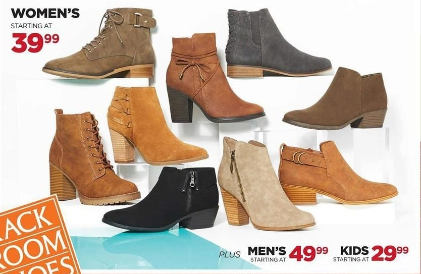 Rack Room Shoes Black Friday: Select Women's Boots - From $39.99