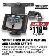 Northern Tool and Equipment Black Friday: Smart Hitch Backup Camera and Sensor System for $119.99