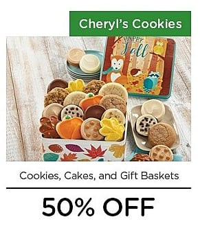 LivingSocial Black Friday: Cheryl's Cookies, Cakes and Gift Baskets - 50% Off