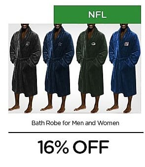 LivingSocial Black Friday: NFL Men's or Women's Bath Robe - 16% Off