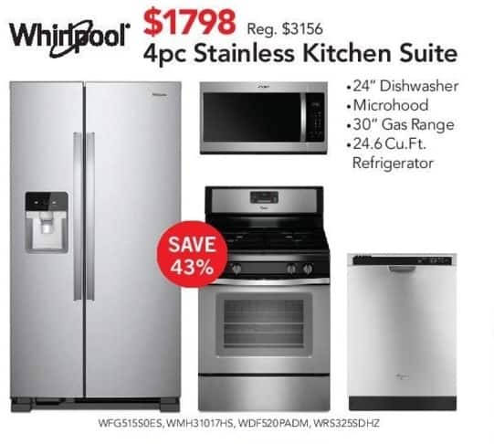 ABT Electronics Black Friday Whirlpool Pc Kitchen Suite - Abt dishwasher