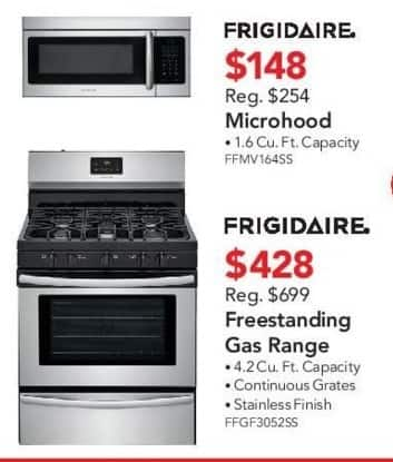 ABT Electronics Black Friday: Frigidaire FFGF3052SS Freestanding Gas Range for $428.00