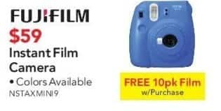 ABT Electronics Black Friday: Fujifilm Instant Film Camera + 10-pk Film for $59.00