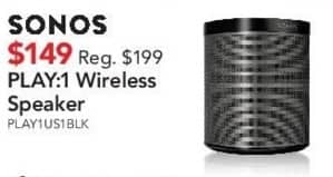 ABT Electronics Black Friday: Sonos Play:1 Wireless Speaker for $149.00