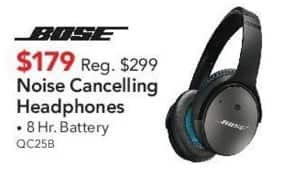 ABT Electronics Black Friday: Bose Noise Cancelling Headphones for $179.00