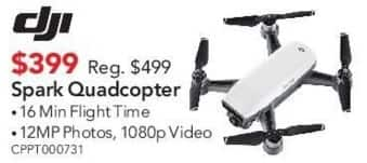 ABT Electronics Black Friday: DJI Spark Quadcopter for $399.00
