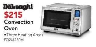 ABT Electronics Black Friday: DeLonghi Convection Oven for $215.00