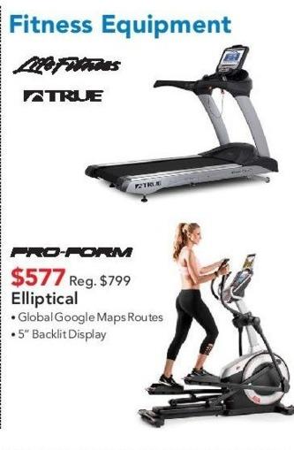 ABT Electronics Black Friday: Pro-Form Elliptical for $577.00