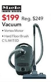 ABT Electronics Black Friday: Vortex Motor Vacuum for $199.00