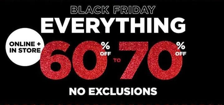 Aeropostale Black Friday: Entire Store - 60-70% Off