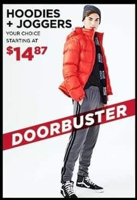 Aeropostale Black Friday: Hoodies and Joggers, Your Choice for $14.87