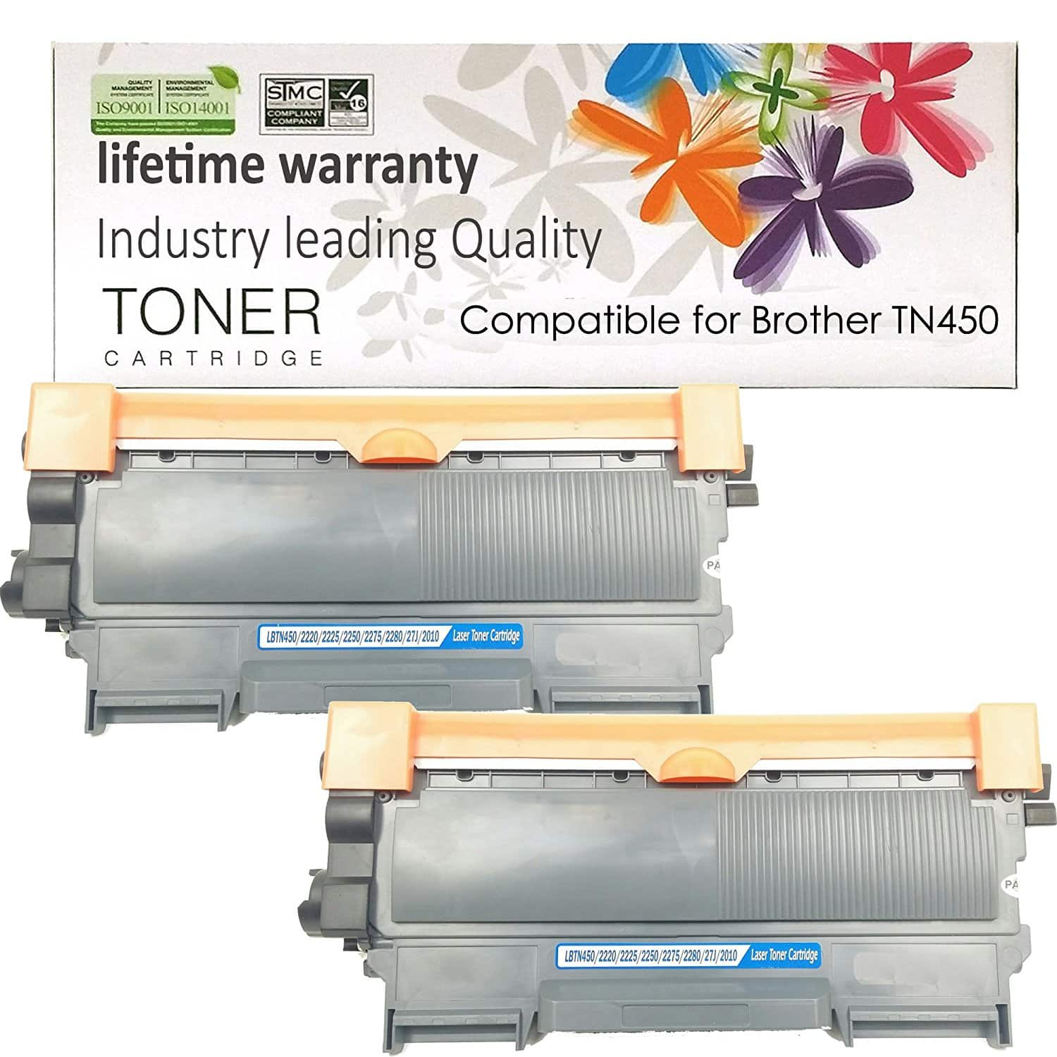 Shop At 247 Compatible Toner Cartridge Replacement for Brother TN450 (2-Pack) $11.99