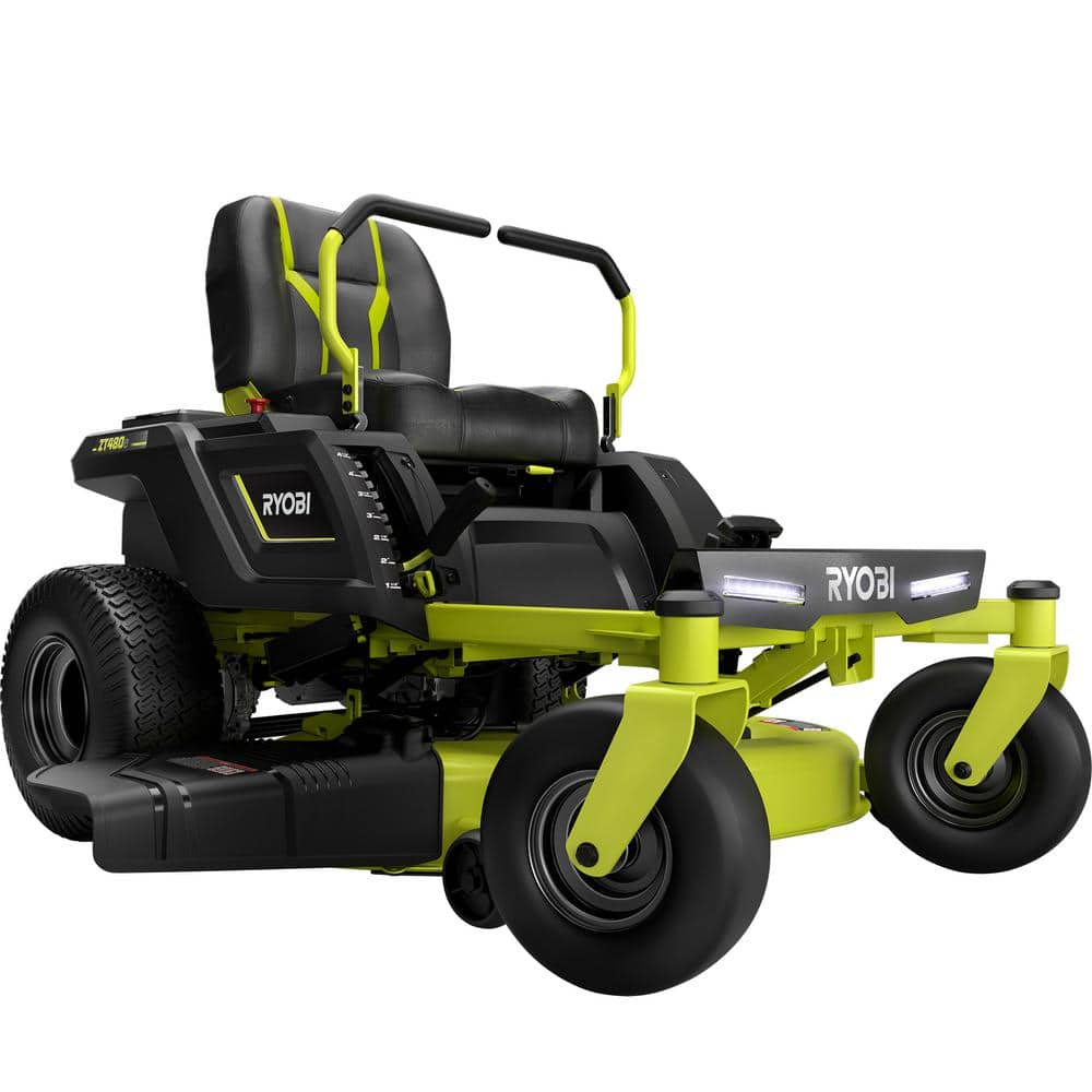 "Ryobi 42"" 75ah Electric Zero Turn was $3899 is now $3299 at Home Depot"