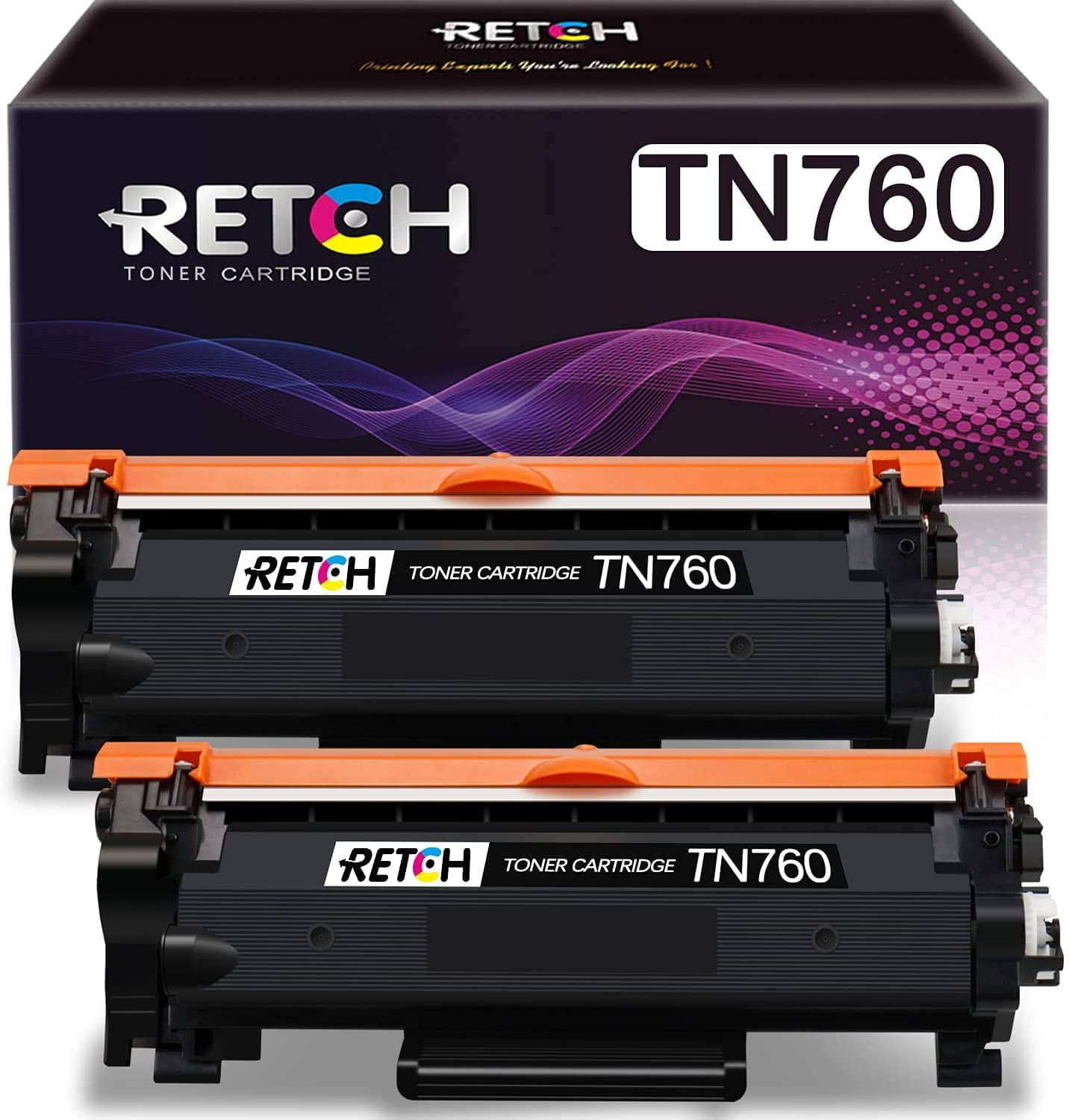 compatible toner cartridge replacement for brother TN760 TN730 $14.99 $14.99
