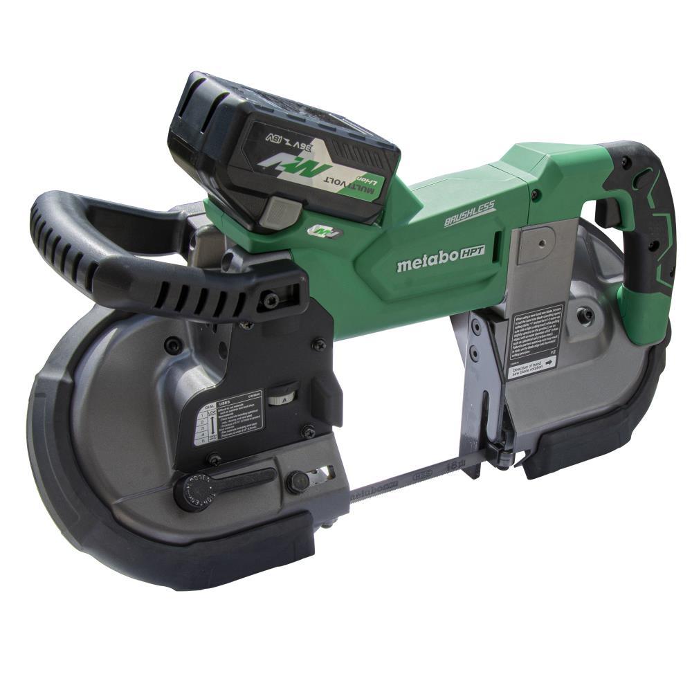Metabo 36V MultiVolt Deep Cut Band Saw + HPT Multivolt Grinder + 4Ah Battery $489 AR