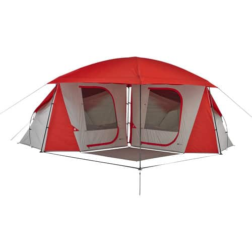Ozark Trail 8-Person Dome ConnecTent with Versatile Canopy for $80 + FS $79.99