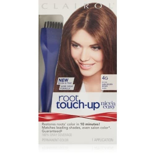 Prime - Clairol Nice 'n Easy Root Touch-Up 4G Matches Dark Golden Brown Shades 1 Kit, $1.89 + FS