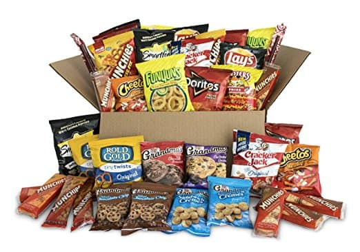 Ultimate Snack Care Package, Variety Assortment of Chips, Cookies, Crackers & More, 40 Count $13.99 + FS w/S&S