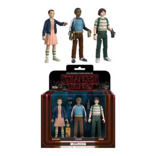 Funko Stranger Things Action Figure 3 Pack #2 for $15.83 + FS w/Prime