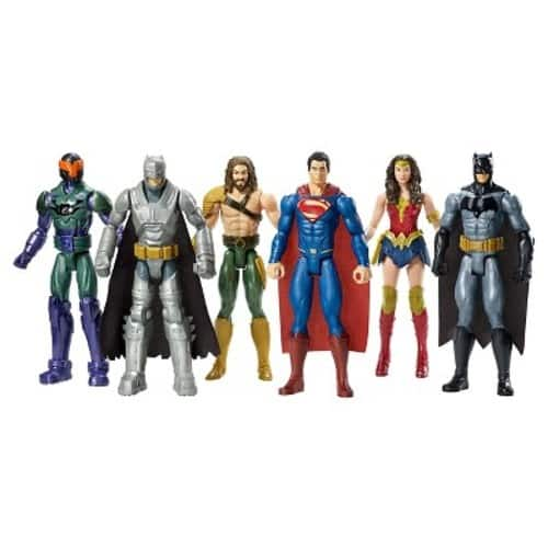 Batman v Superman: Dawn of Justice 12-Inch Figure 6-Pack $22.49 + FS