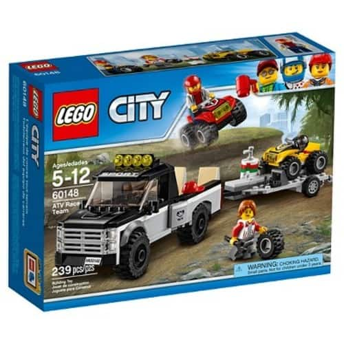LEGO City Great Vehicles ATV Race Team (60148) $12.79 + FS(Prime) or Free Store Pickup