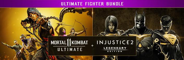 Mortal Kombat 11 Ultimate + Injustice 2 Legendary Edition Bundle (PC Digital Download) via Steam $39.99