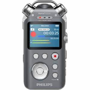 Philips VoiceTracer DVT 7500 Audio Recorder with XLR adapter - $129 Frys w/ FS with promo code