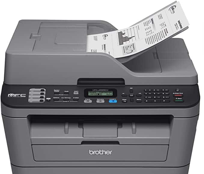 Brother Refurbished MFC-L2685DW, Compact All-in-One Monochrome Laser Printer, Duplex Printing $99.99 Shipped