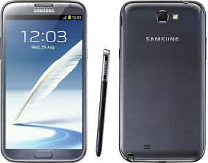 Refurbished Samsung Galaxy Note II SGH-I317 - 16GB - Titanium gray (AT&T) $250 + Free Shipping & unlockable no contract GSM