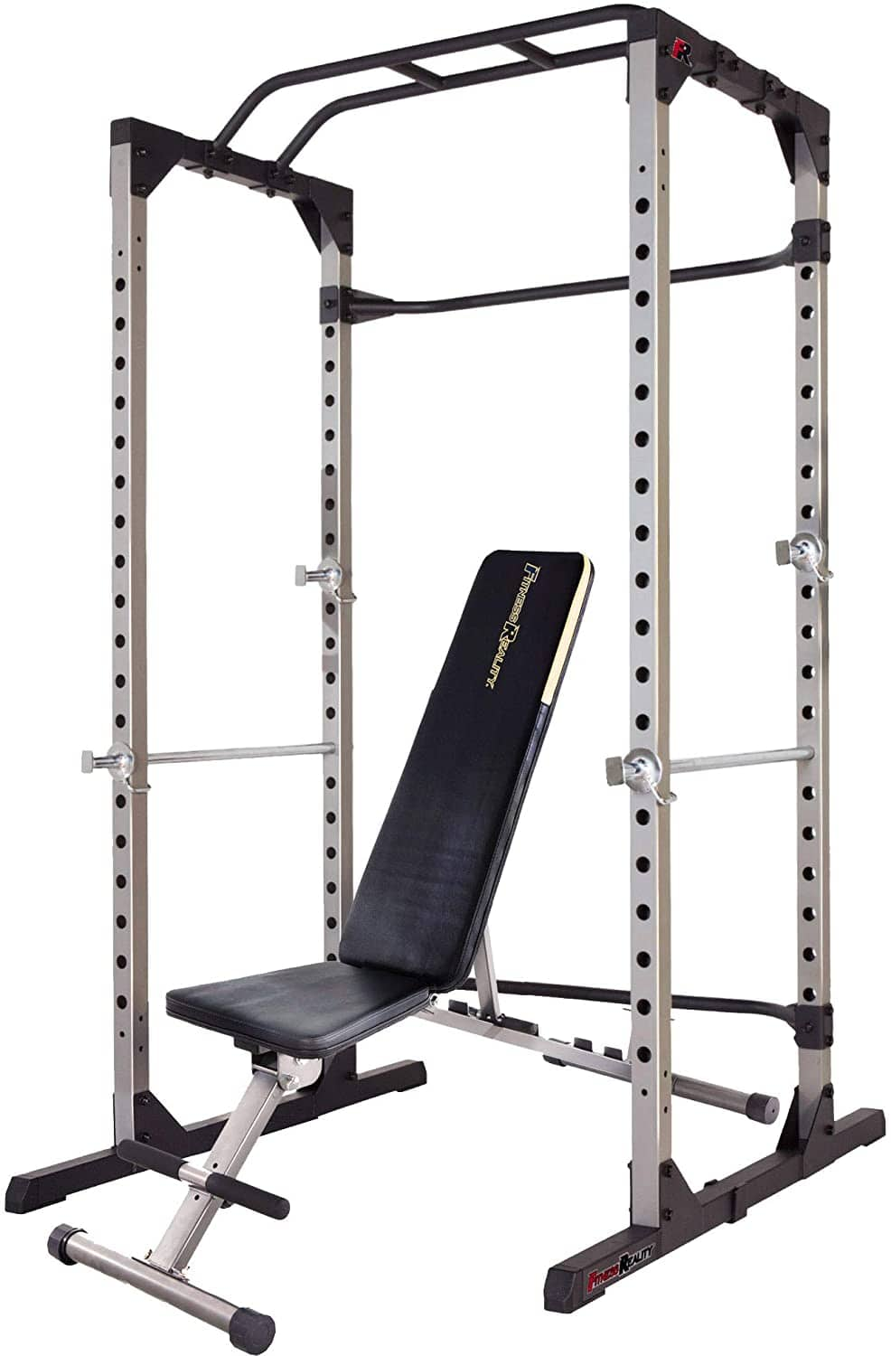 Fitness Reality 810XLT Super Max Power Cage/Squat Rack w/ Adjustible Weight Bench Combo 800 LBs Capacity $339.35