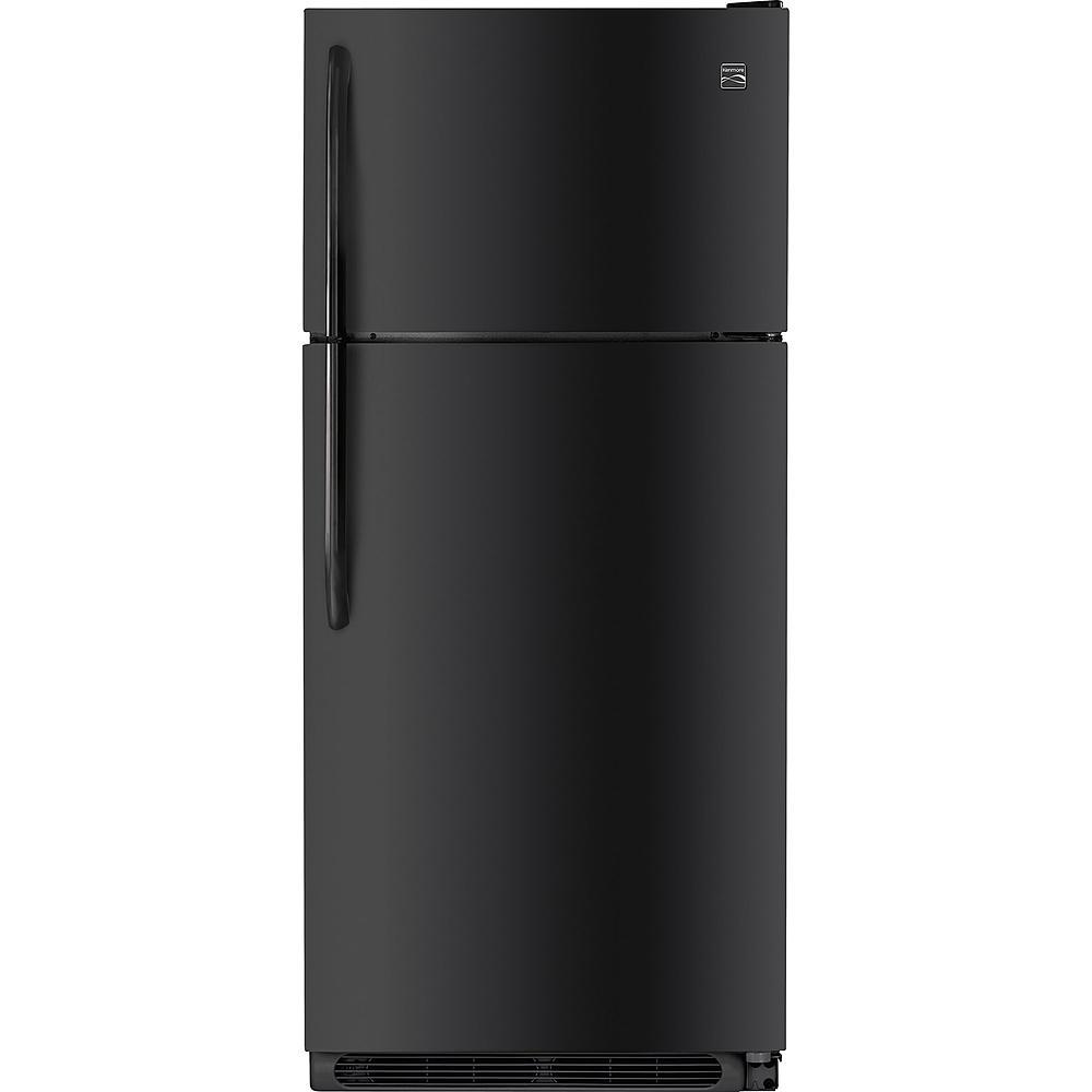 Kenmore 70089 20.4 cu. ft. Top Freezer Refrigerator w/ Ice Maker - Black $529.99 AC
