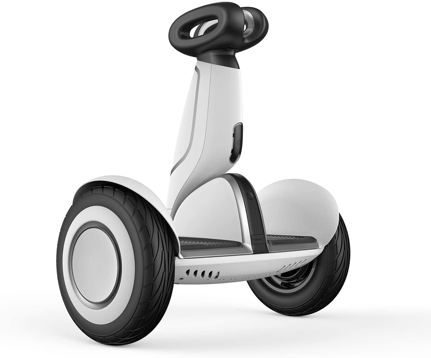 Segway Ninebot S-Plus Smart Self-Balancing Electric Scooter with Intelligent Lighting and Battery System, Remote Control and Auto-Following Mode, White $599.99