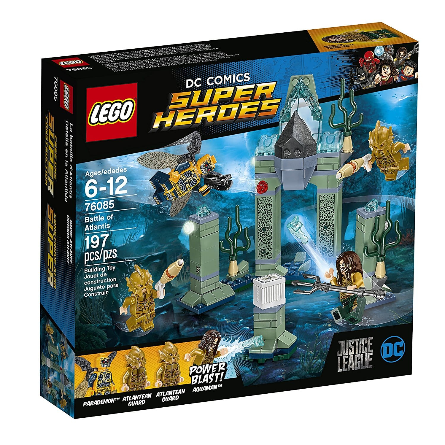 LEGO Super Heroes 76085 Battle of Atlantis (197 Piece) 40% off! $11.99