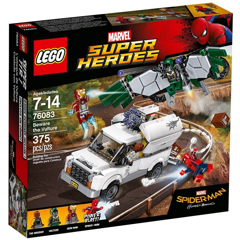 LEGO Super Heroes Beware the Vulture 76083 Building Kit 35% off $25.99