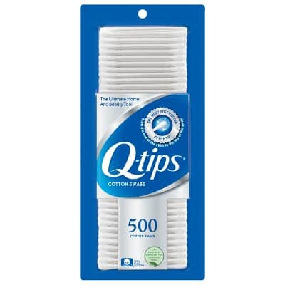 TARGET - Q-tips Cotton Swabs 500 Count for $2.99 each, buy 4 and get a $5 gift card!