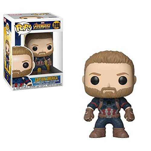 Funko POP! Marvel: Avengers Infinity War - Captain America - $5.99 + tax Amazon Prime Shipping