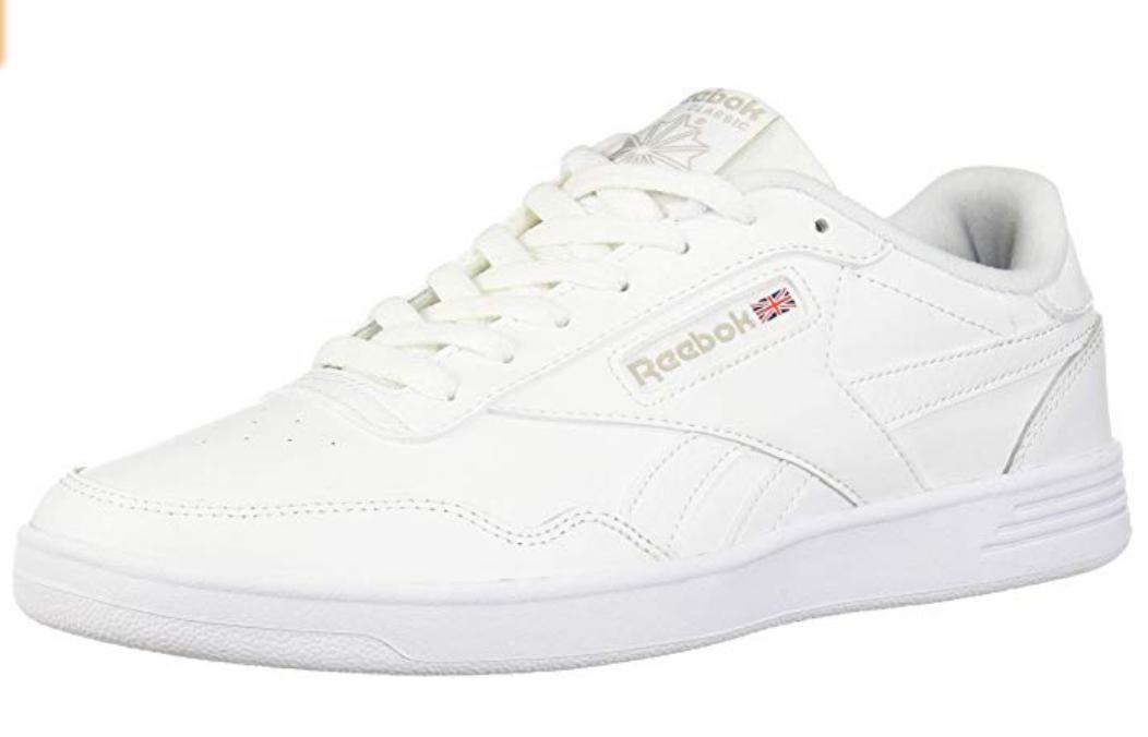 Reebok Men's Club MEMT Sneaker (Green,red,white) Multiple Sizes - $27.19