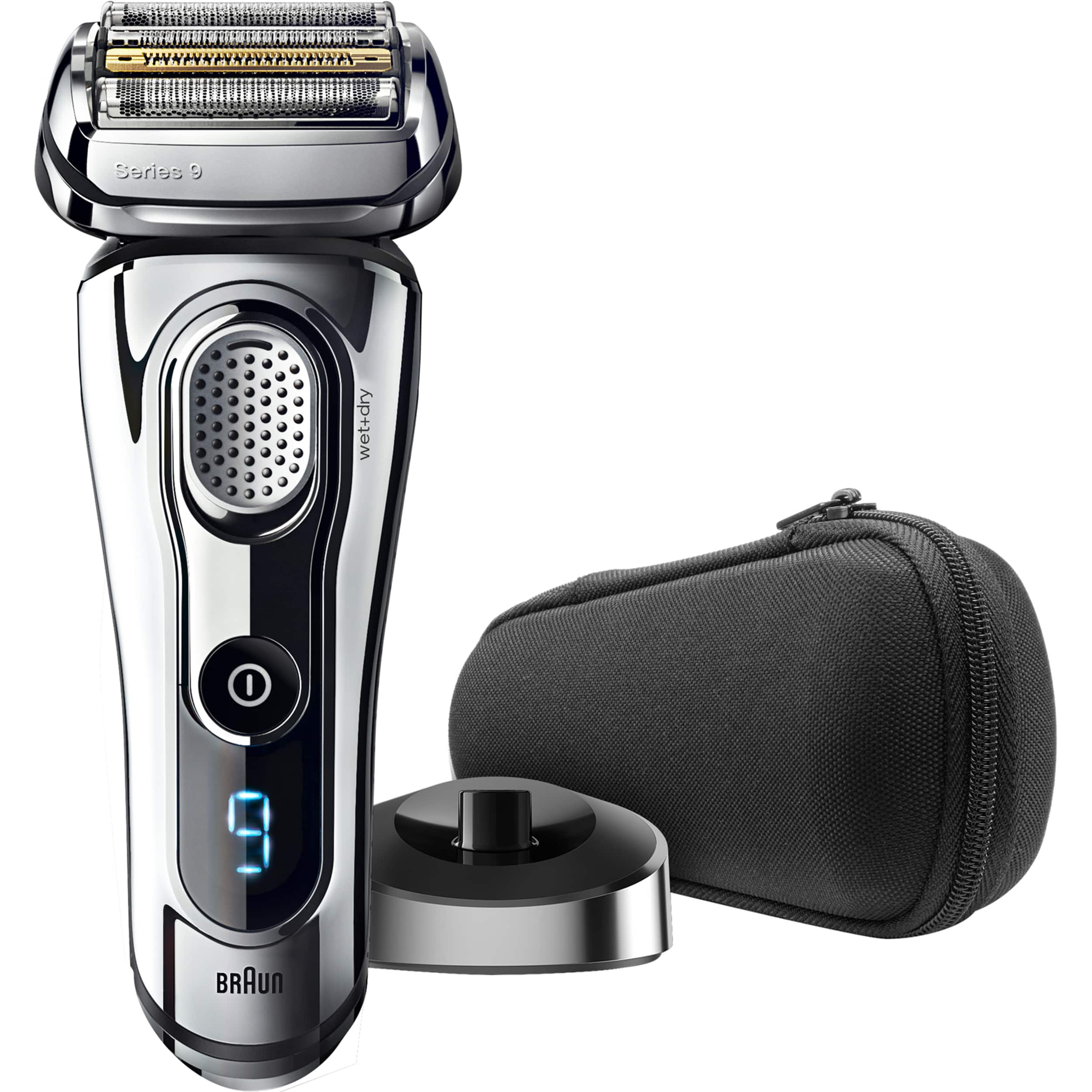 Beauty Braun Series 9 9293s Men's Electric Foil Shaver, Wet and Dry Razor with Charging Stand and Travel case -$139.94