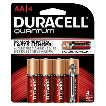4 Pack Duracell Quantum AA & AAA - $0.69 @Walgreens Clearance (YMMV B&M)
