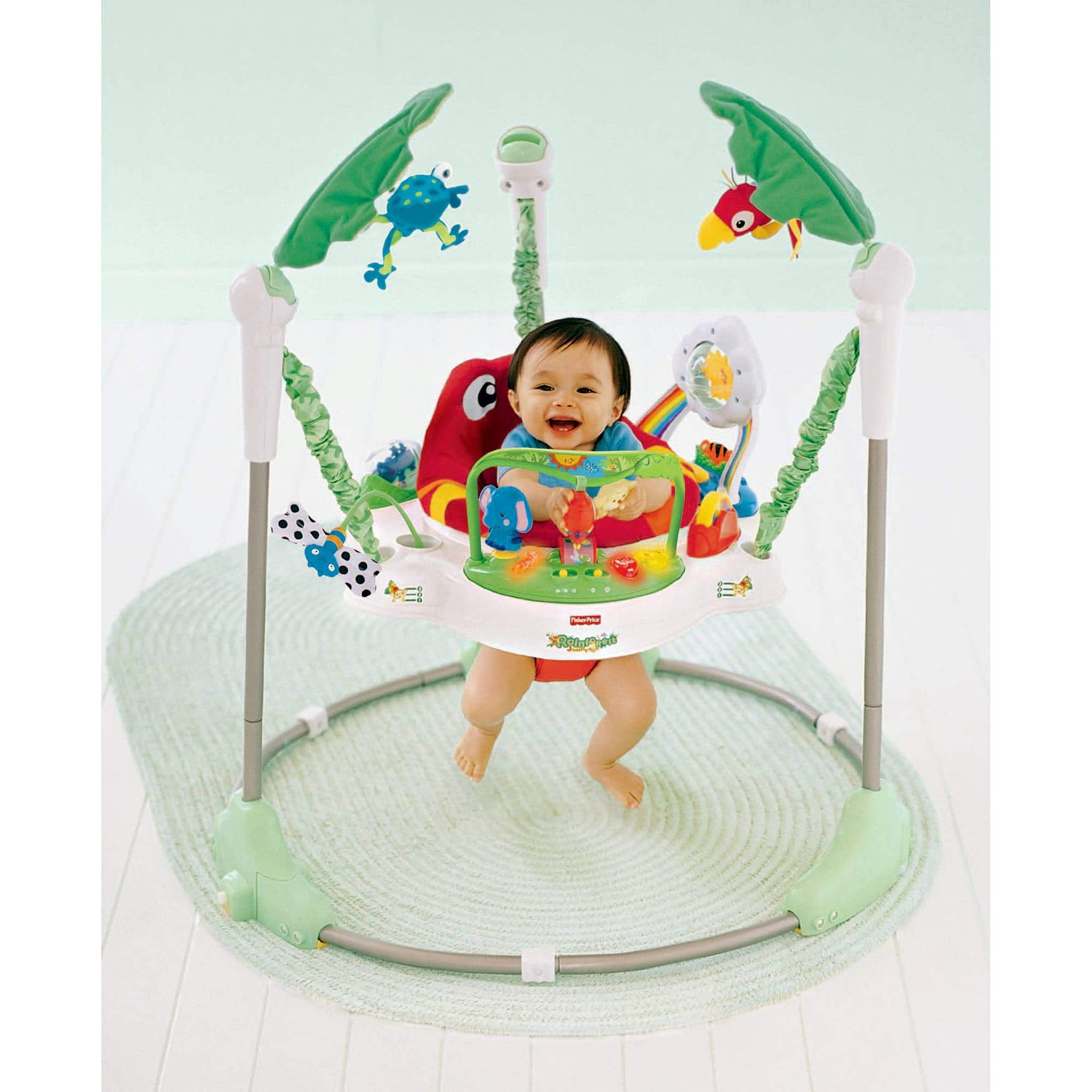 Fisher-Price Jumperoo - Rainforest Friends $54.39