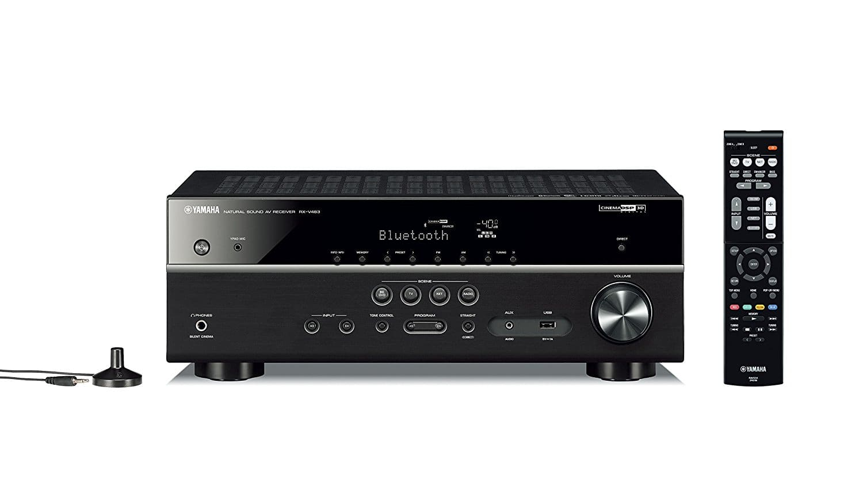 Yamaha RX-V483BL 5.1-Channel 4K Ultra HD MusicCast AV Receiver $329.95 + FS